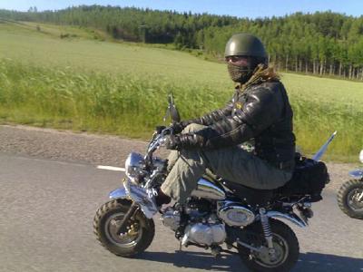 Riding 50cc Monkey to Gibraltar