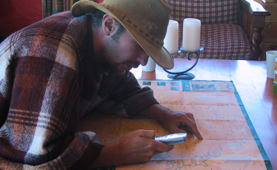 Calculating gas mileage with a phone in Lesotho