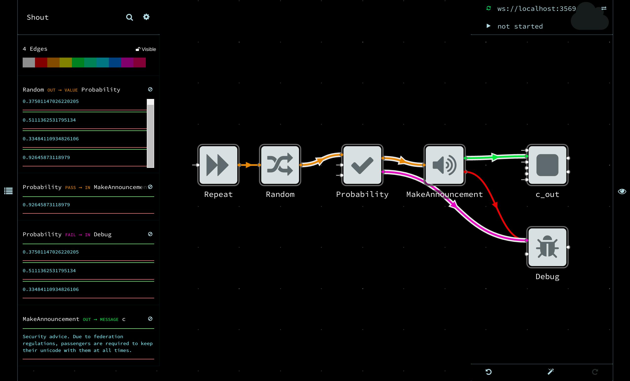 Live programming NoFlo in Flowhub