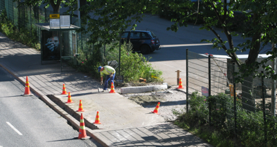 Suvilahti Roadwork on 2008-07-25