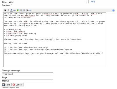 Wiki-Markdown-Toolbar