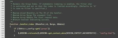 Zenburn in SubEthaEdit's PHP mode